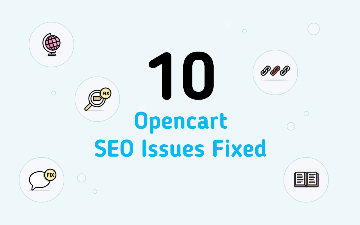 10 Opencart SEO Issues Fixed