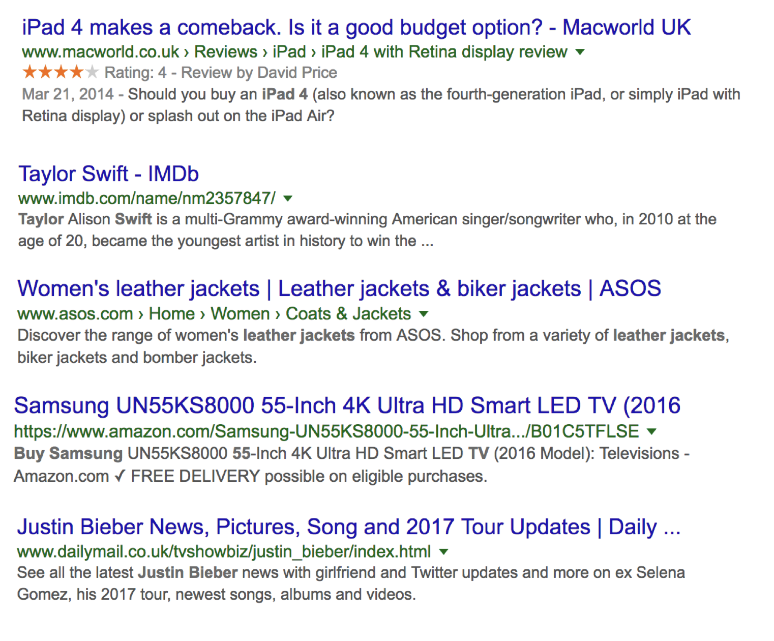 Examples of perfect meta descriptions
